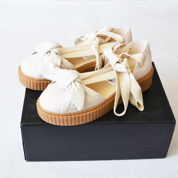 Rihanna Puma x Fenty Bow Creeper Sandal Size 9 96bfab593